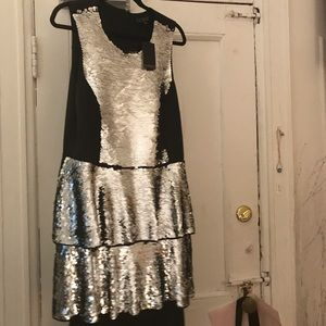 Sequin Eloquii Dress